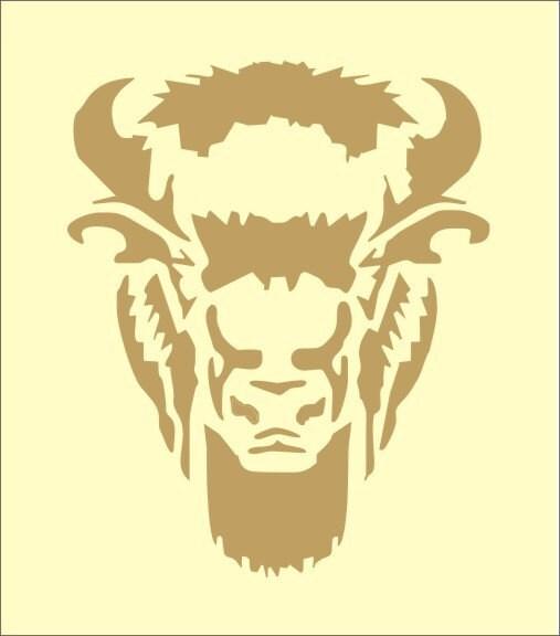 Bison Stencil