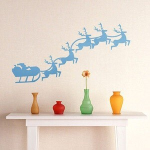 Removable Amon Home Wall Stickers --Christmas deer