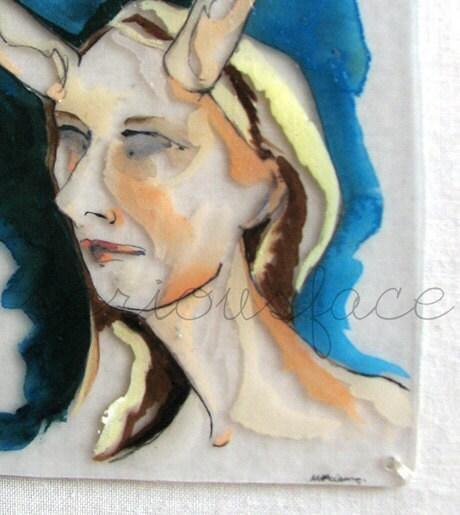 MATURE - Love or Lust - Original Artwork - Acrylic Painting