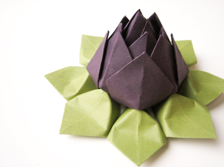 Lotus Flower - Origami paper