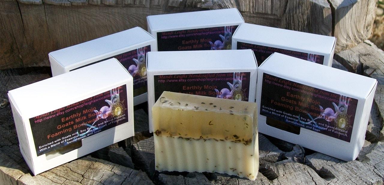 Milk & Honey Earthly Mojo Foaming Bar Soap