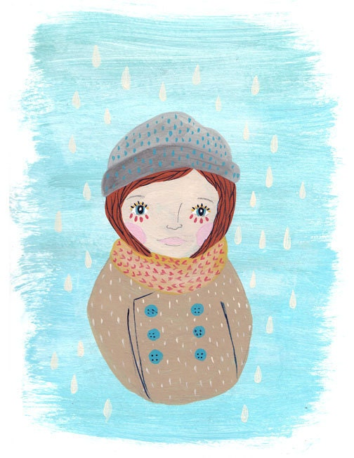 "Baby it's cold outside 8.5"" x 11"" print"