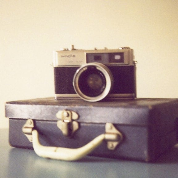 Have Camera Will Travel - 8x8 Fine Art Photograph