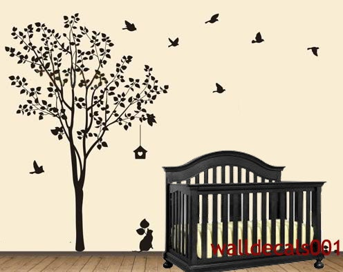 tree wall art decals vinyl sticker vinyl wall decal wall sticker tree decals - Wall Art Design Decals