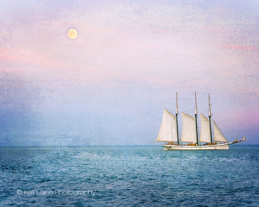 Tall Ship Empire Sandy- Fine Art Photography Original Print (8x10 Metallic Paper)
