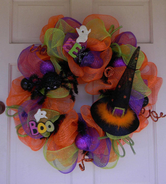 Halloween Wreaths  East 9th Street ~ 174512_Halloween Door Wreath Ideas