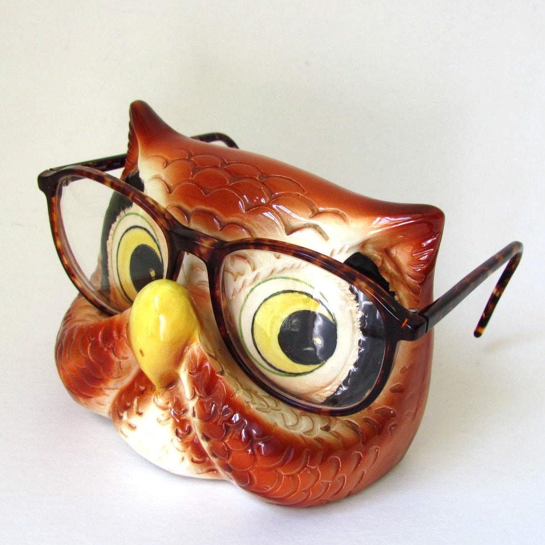 Owl Decor, Decorative Glass Vases with Owl Decorations
