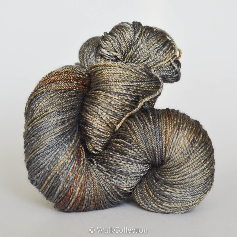 ZEN ... Silky Fingering, hand dyed yarn