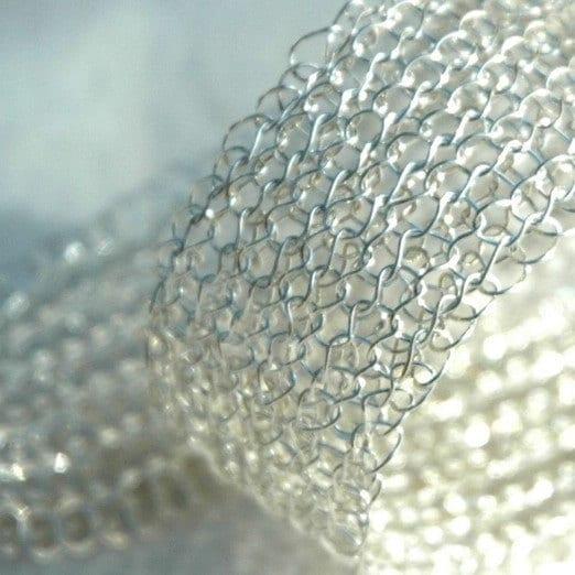 Glamorous silver bracelet
