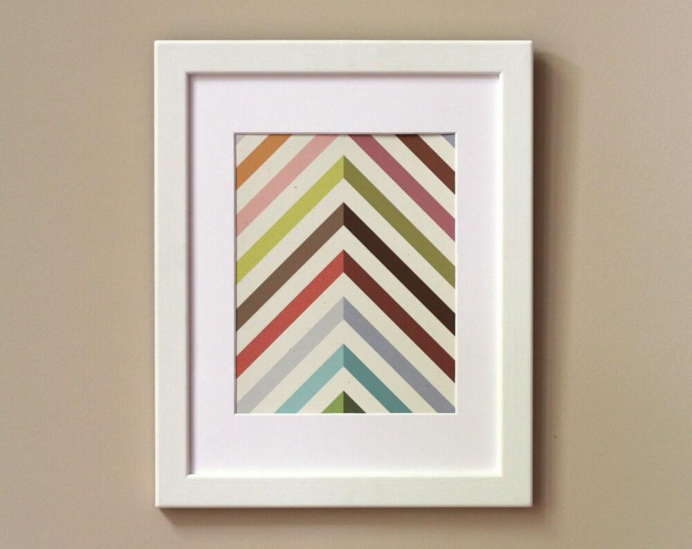 Art Print 8 x 10 - Technicolor - witandwhistle