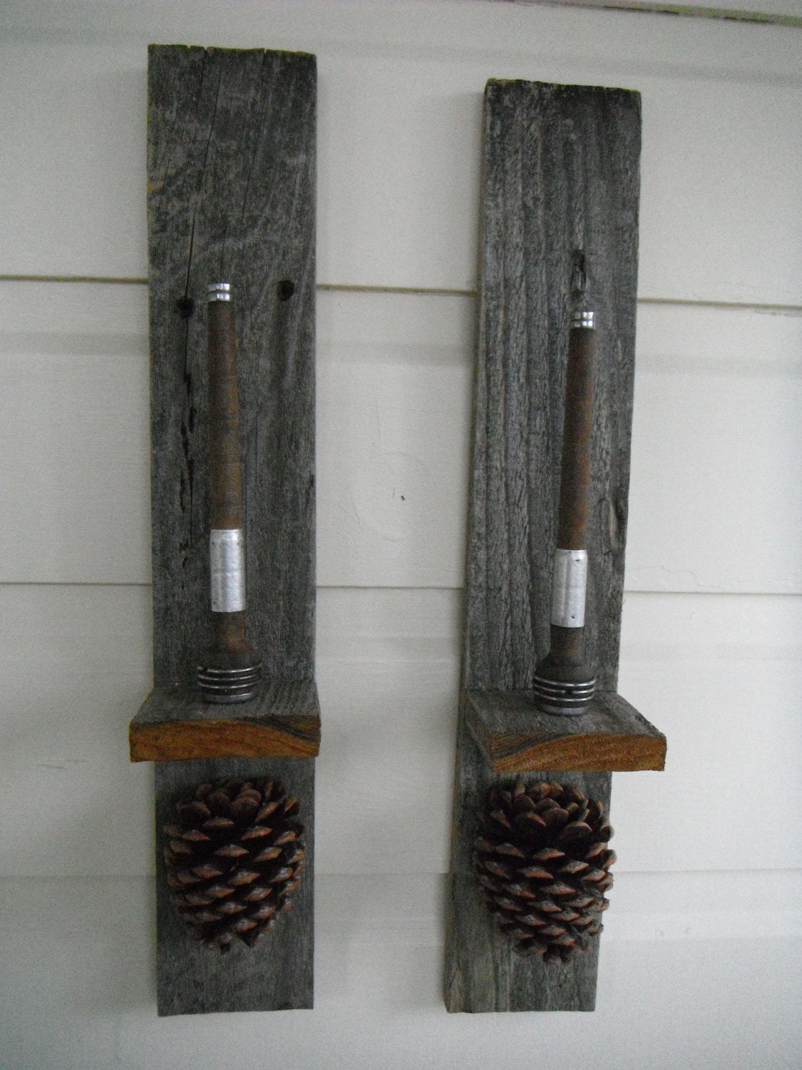 Popular items for old wood sconce on Etsy