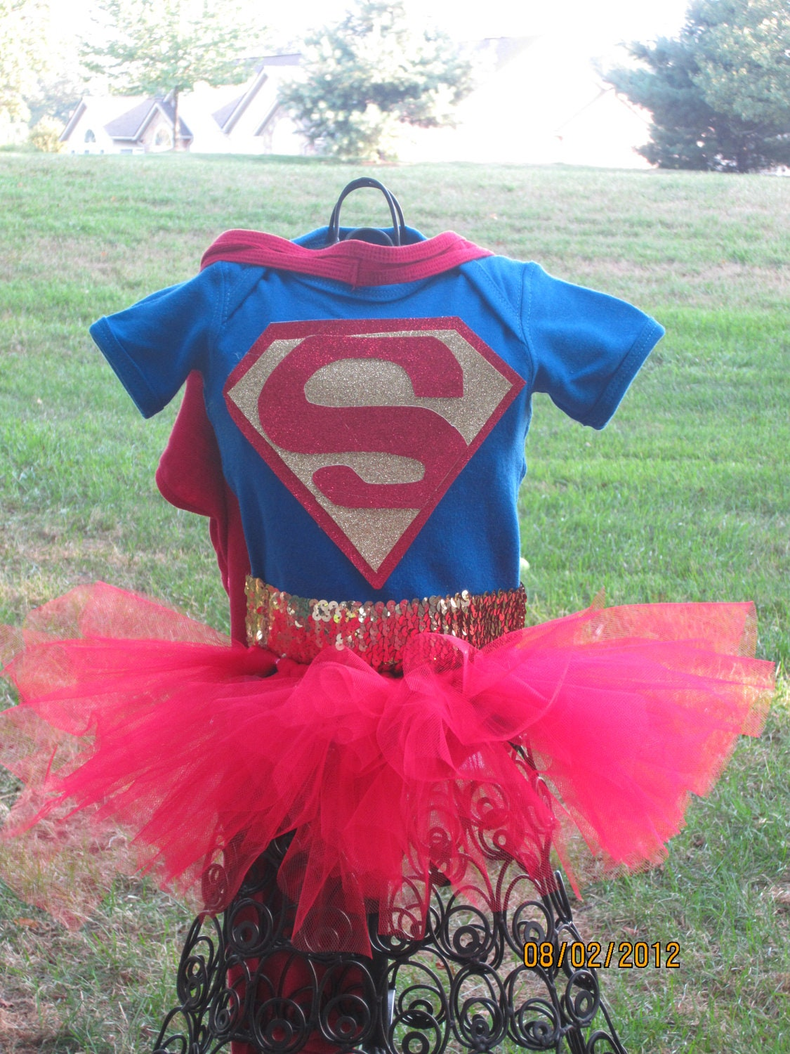 Baby -Children Girls Superwoman Halloween Costume Small
