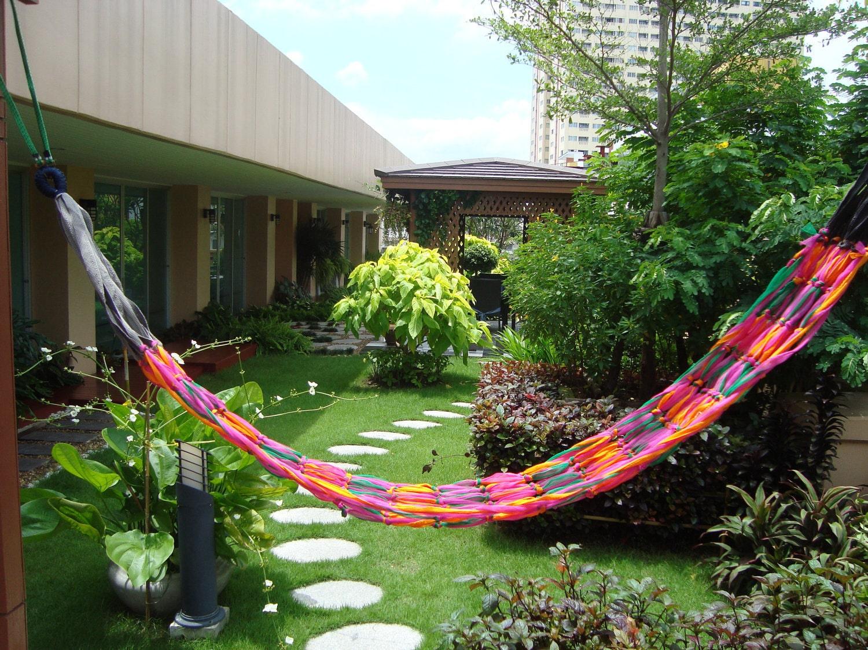 Thai Hot Hammock 13 Reggae Hammock .:. Perfect Summer Hammock for Travel, Beach, Pool or Camping Orange, Pink, Green, Gray, Black