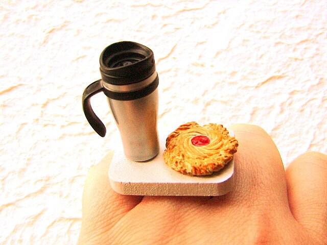 Кофе продовольственной кольцо датского