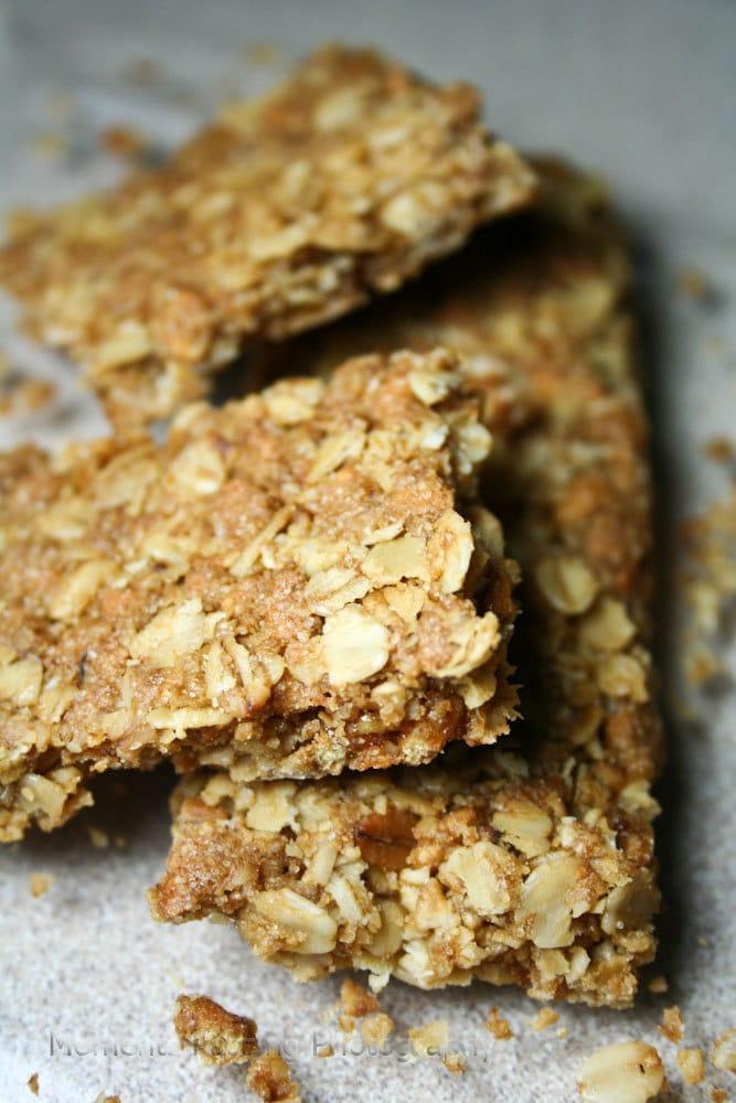 8x10 Food Art Photography: Crunchy Granola Bar