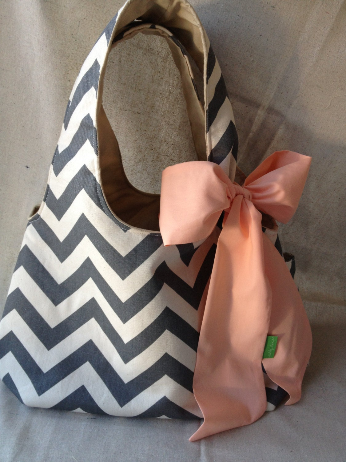 Chevron Hobo Purse