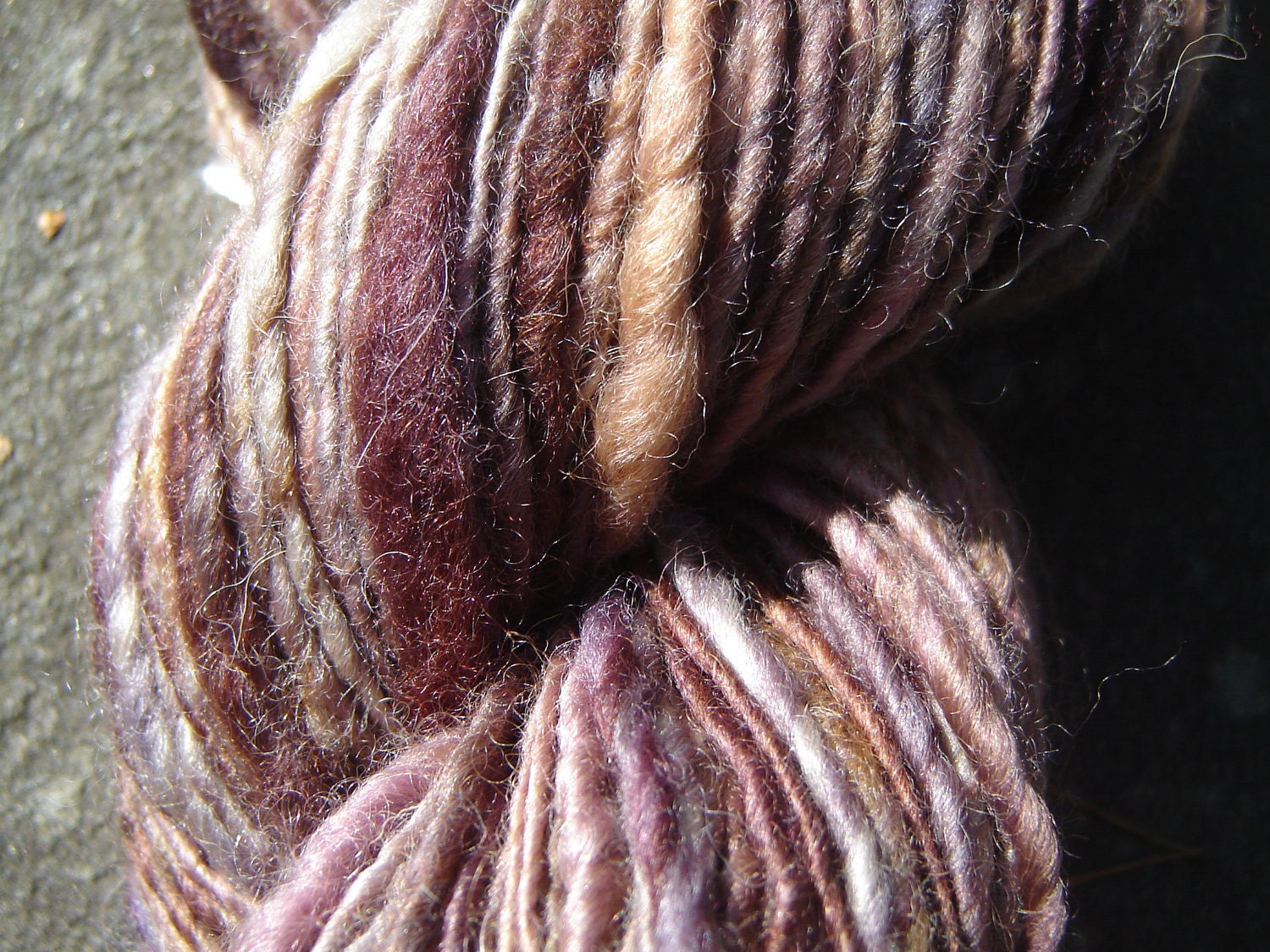 Handspun Merino Yarn - Brown Eyed Girl - theKnitChix