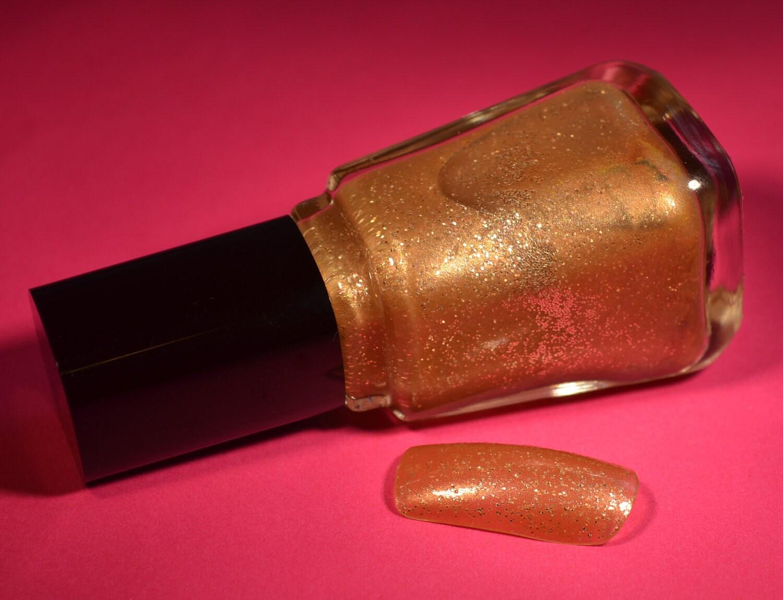 Elaine's 3 Free Golden Honey Custom Fine Glitter Polish