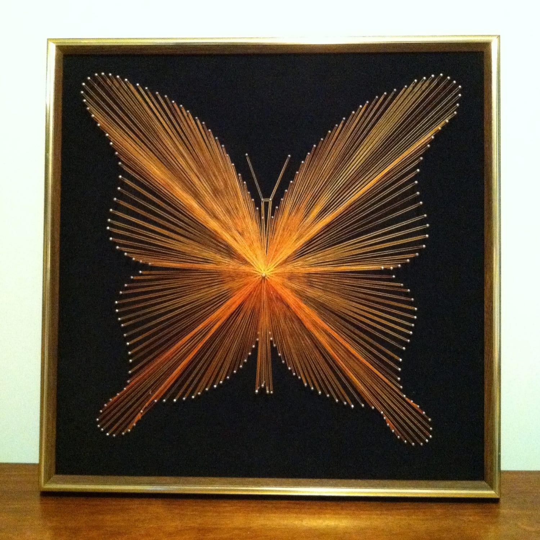 String Art: Diy'S Stringart, 70S String, Diy'S Crafts, 4H Butterflies