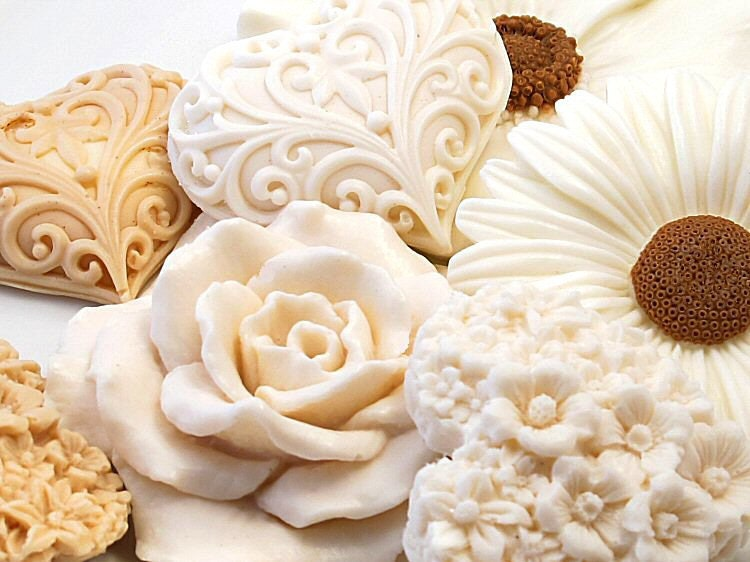 Decorative Gift Soap - Blooming Beige Collection - SoapRhapsody