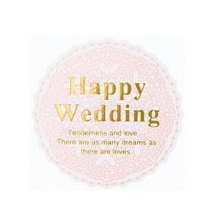 200 HAPPY WEDDING Sticker