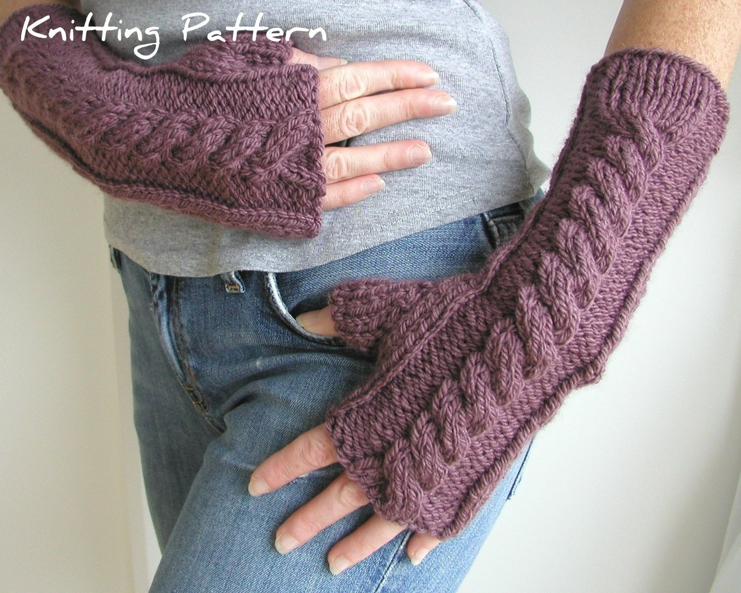 Knit Arm Warmer Pattern : ARM WARMER KNITTING PATTERNS   Browse Patterns