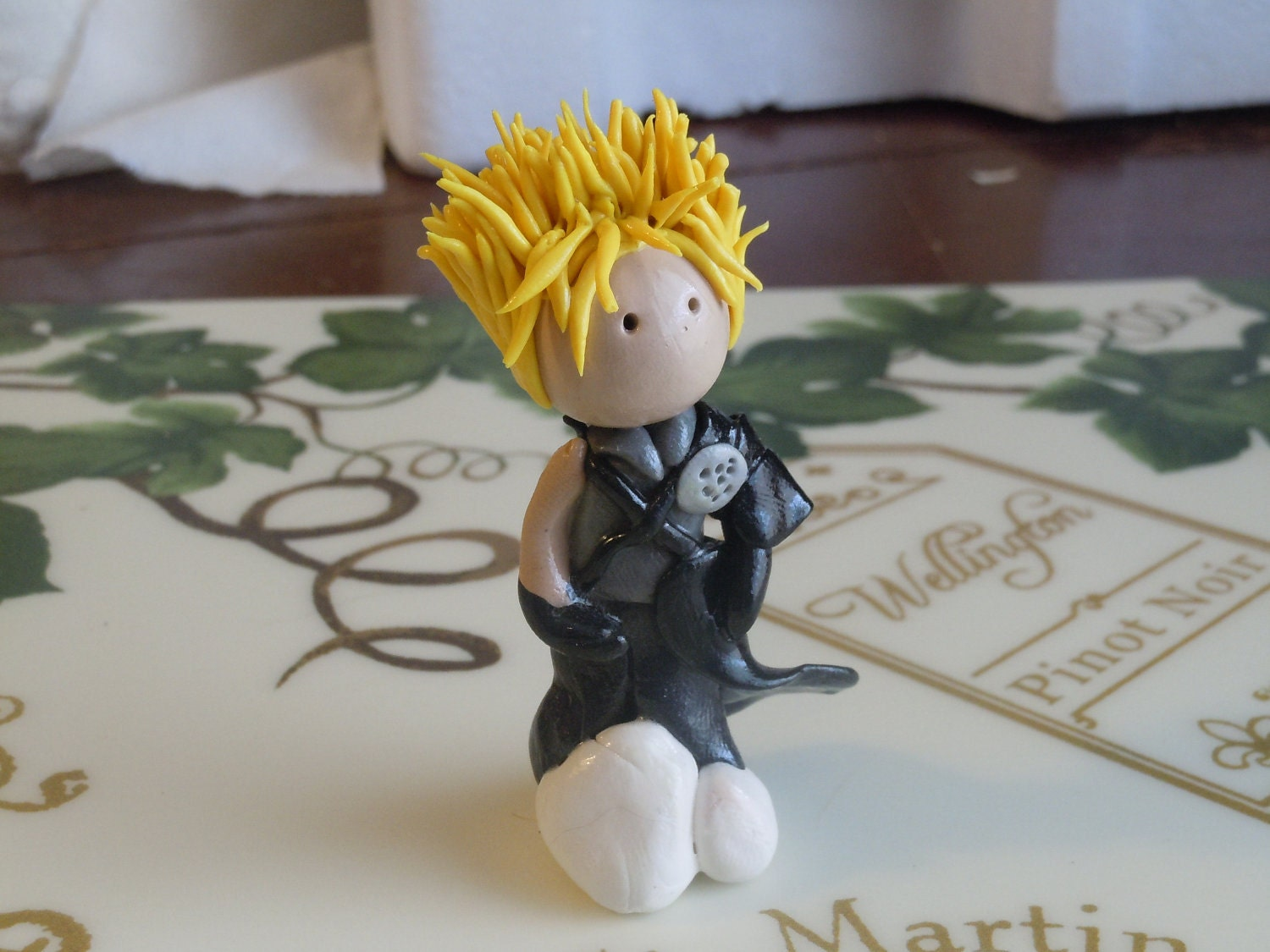 Cloud on a Cloud Final Fantasy 7 Chibi Figure