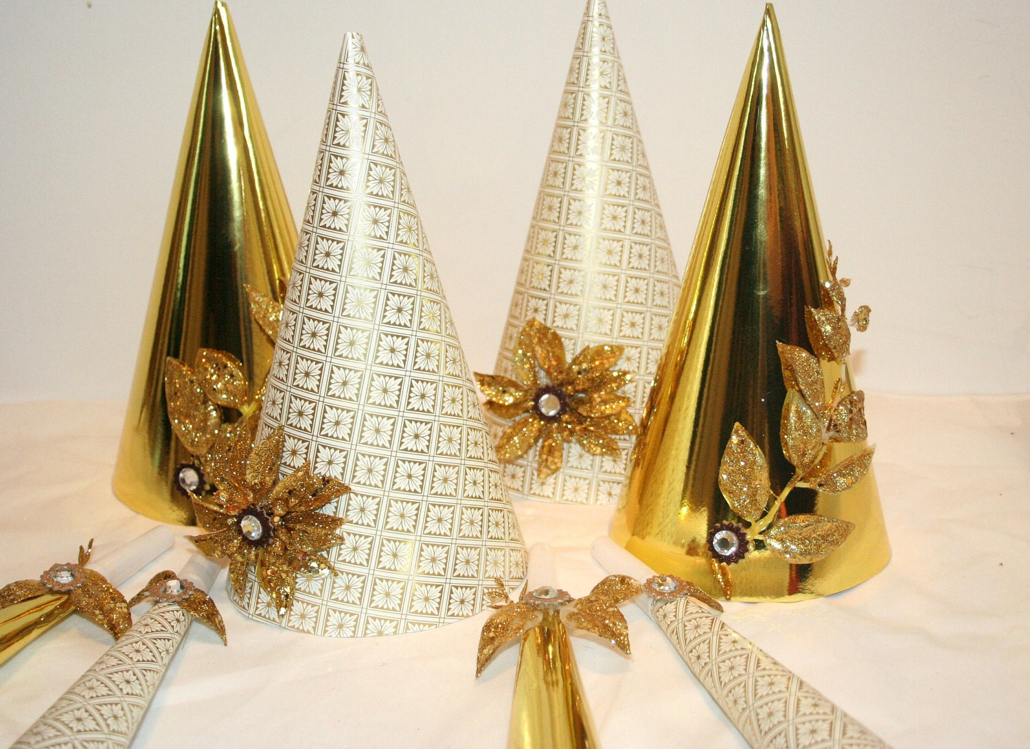 New Years Eve Party Glitz And Glam Hats wedding anniversary