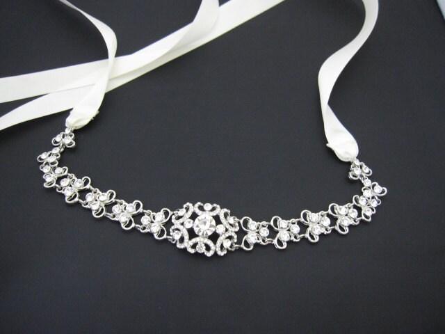 terasa 39 s blog bridal crystal headbands bridal headband ribbon bridal