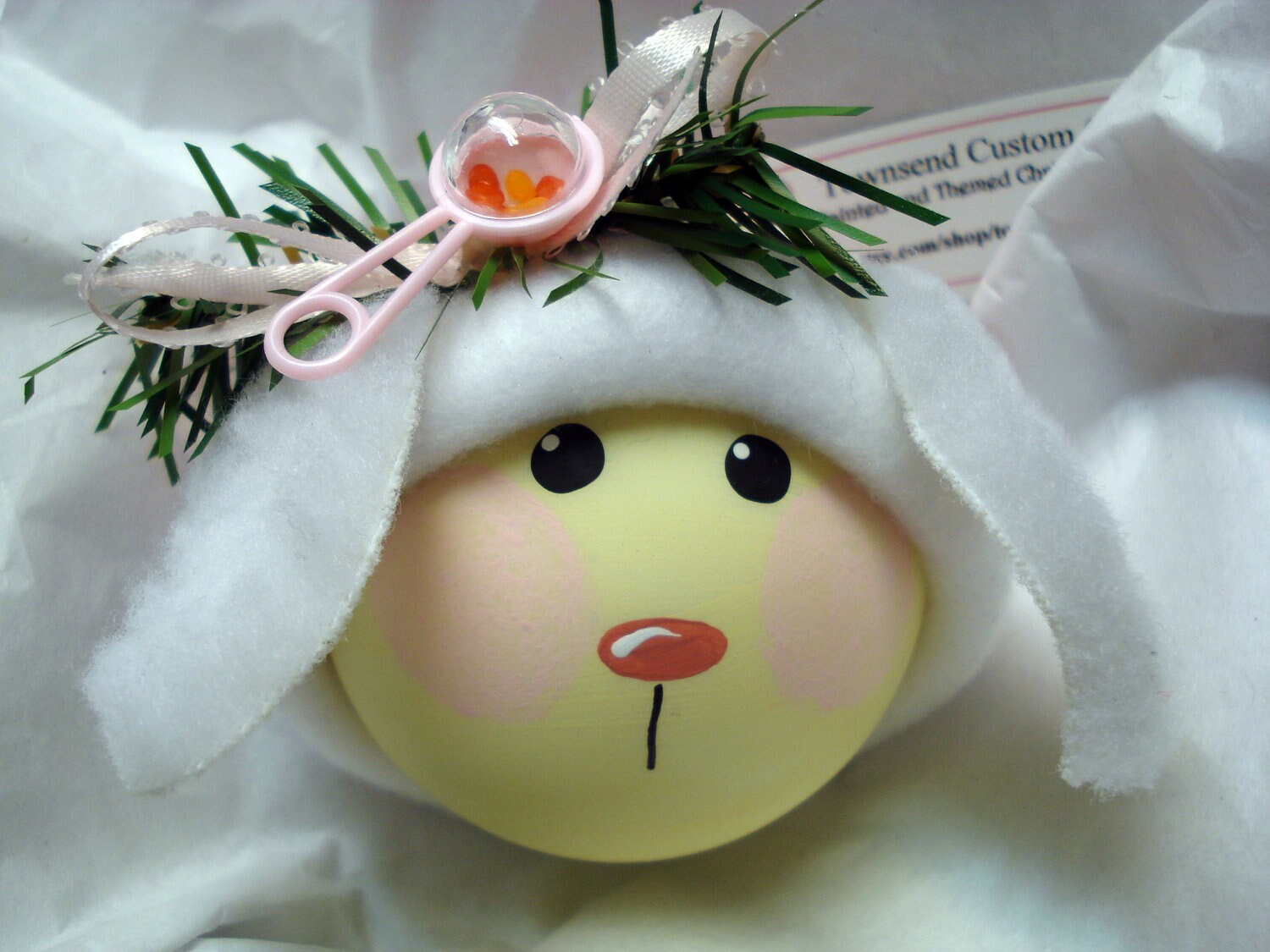 Christmas ornaments for baby - Lamb