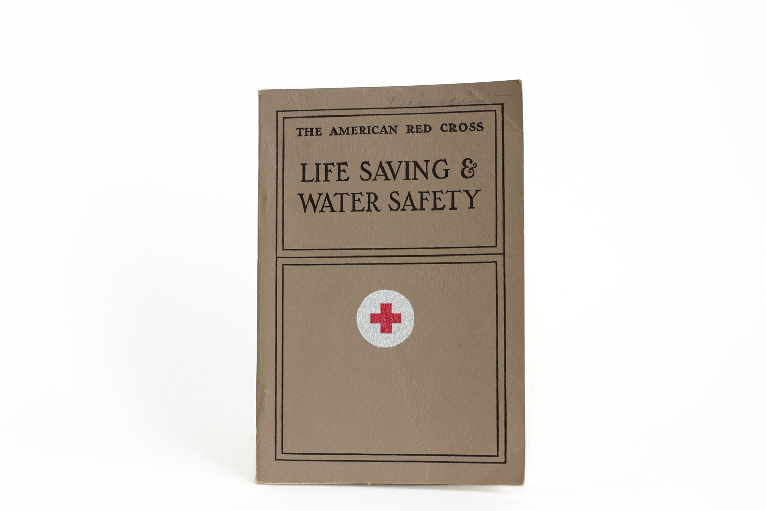 1965 Red Cross Life Saving and Water Safety Textbook - OldVintageGoodies