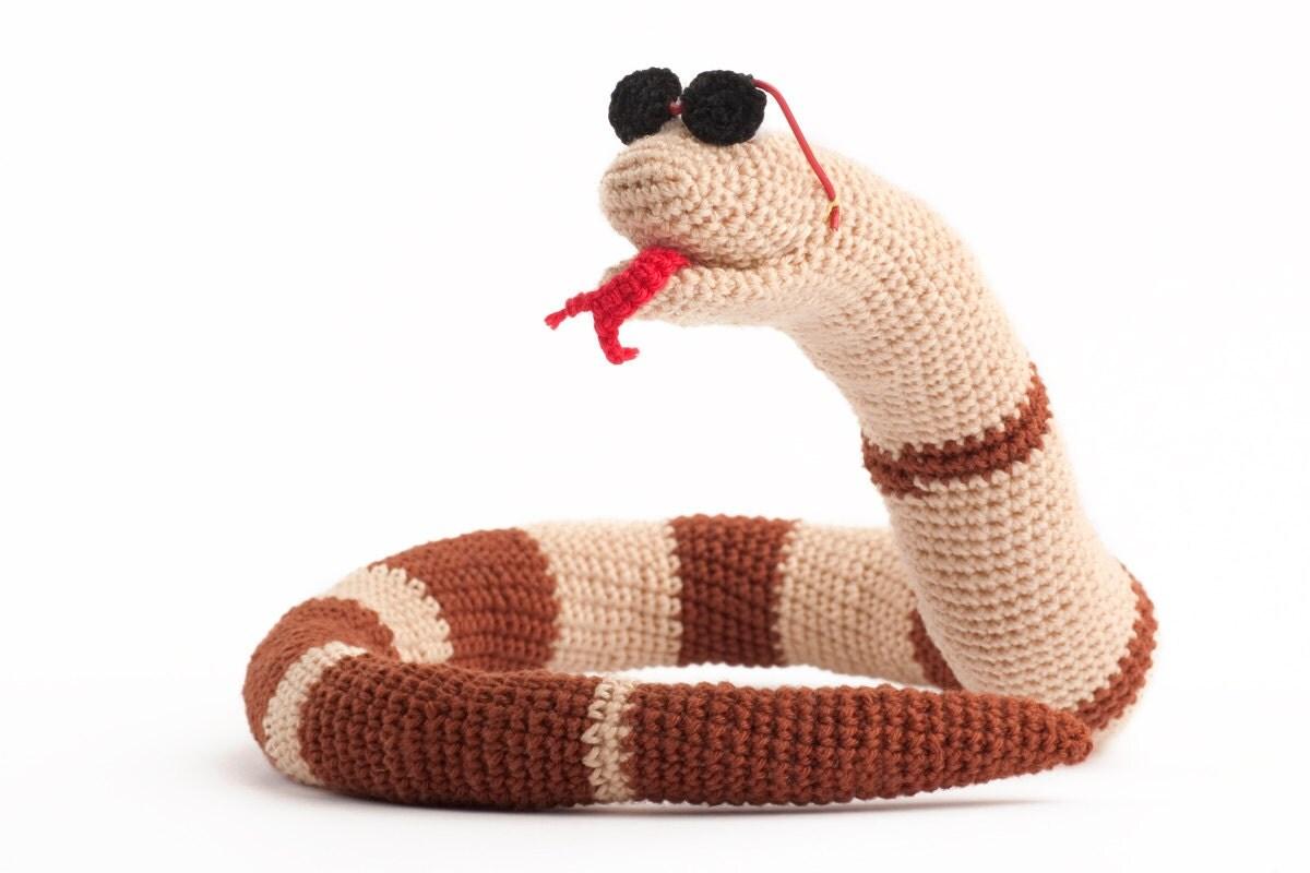 Crochet snake Stevie