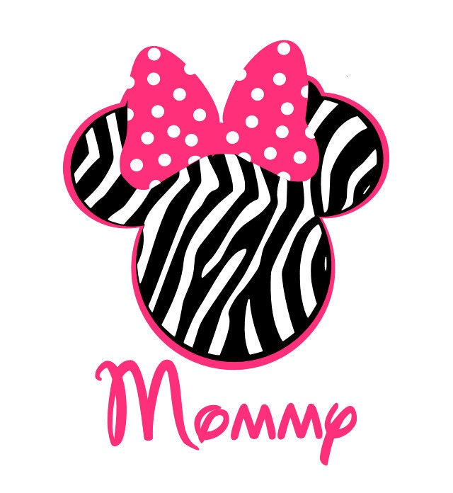 Minnie Mouse zebra - Imagui