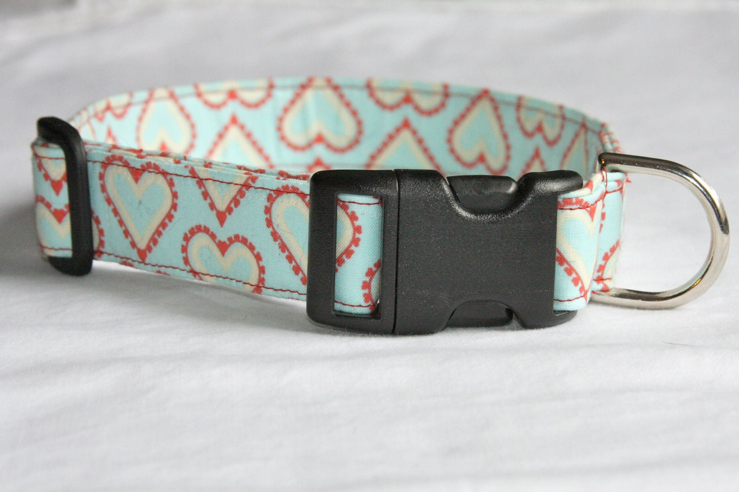 Vintage Valentine Dog Collar