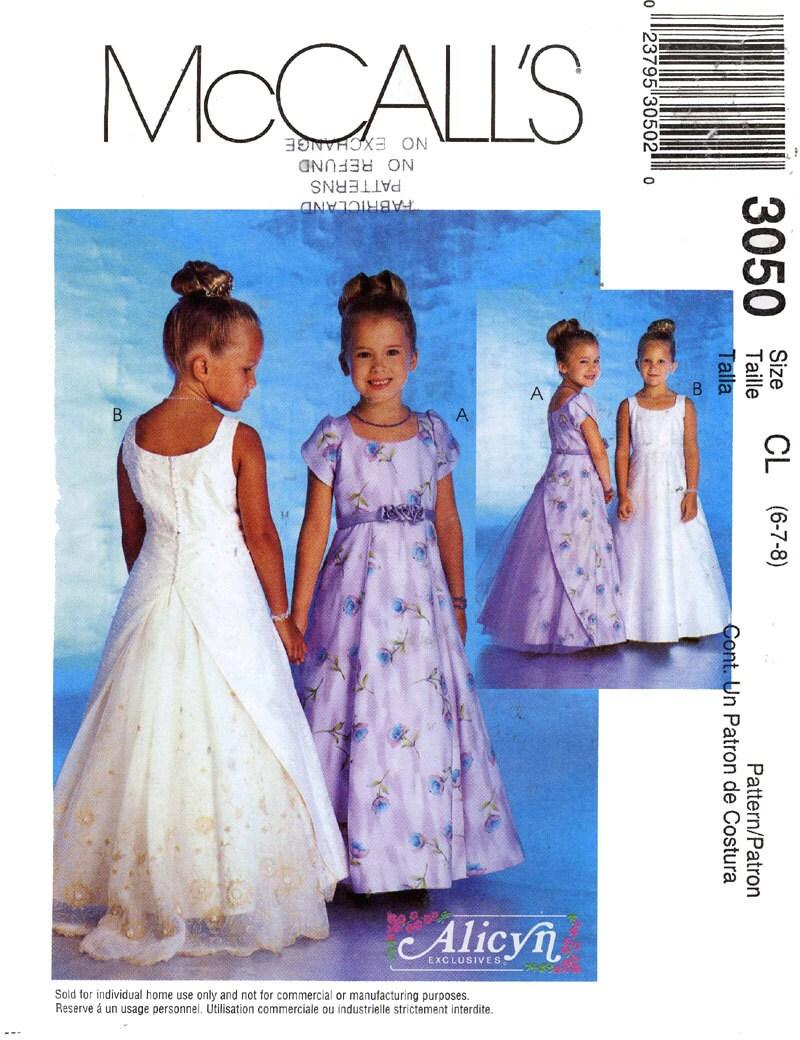 il 570xN.381676843 h9m7 Flower Girl Dress Sewing Patterns