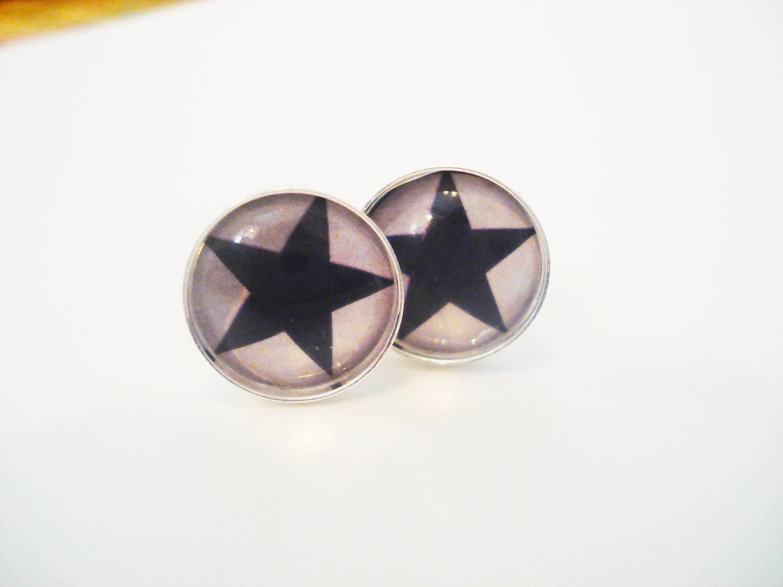 Minimalist Cufflinks Dallas Cowboys cufflinks mens accessories / NFL / football / sports / fathers day / blue star / cuff links - BREADWINNERS