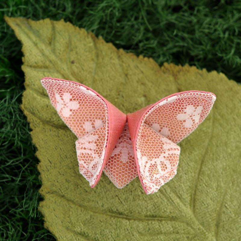 Бабочка своими руками из ткани - Поделки