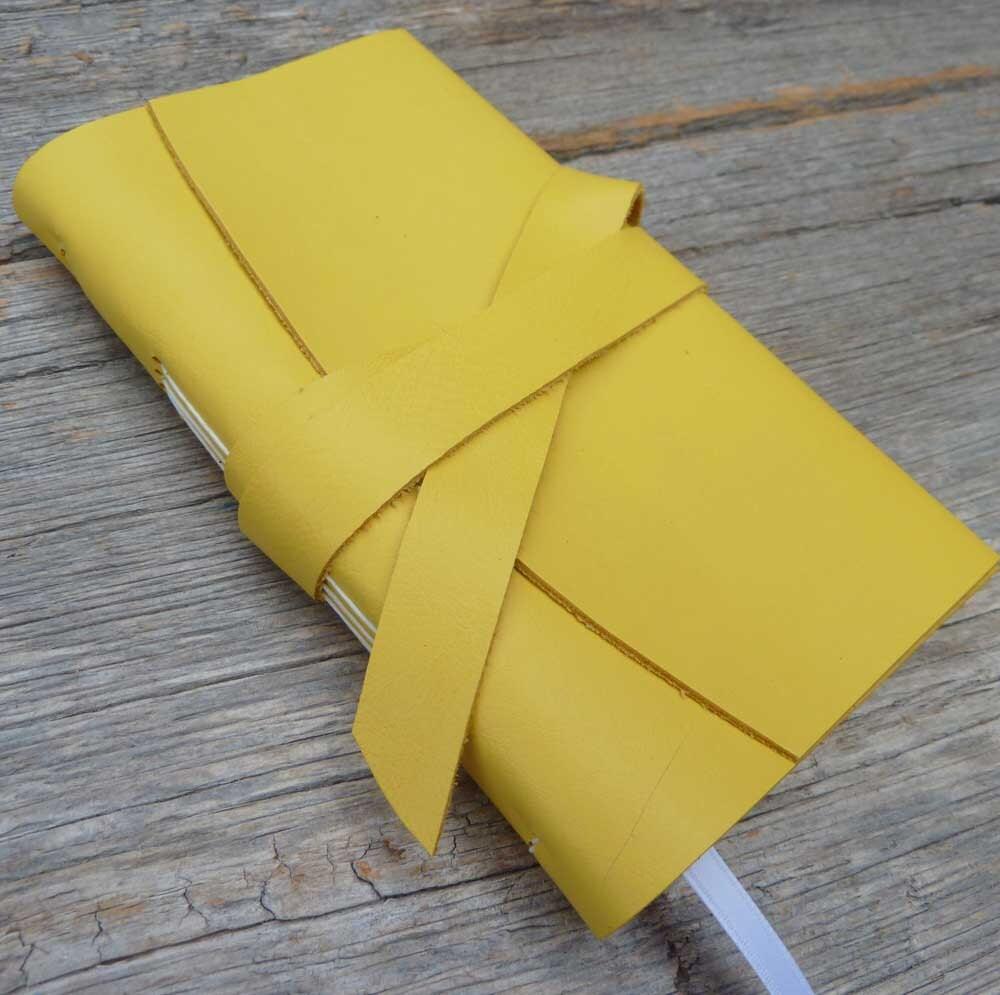 Leather Planner 2012 - weekly format - handbound