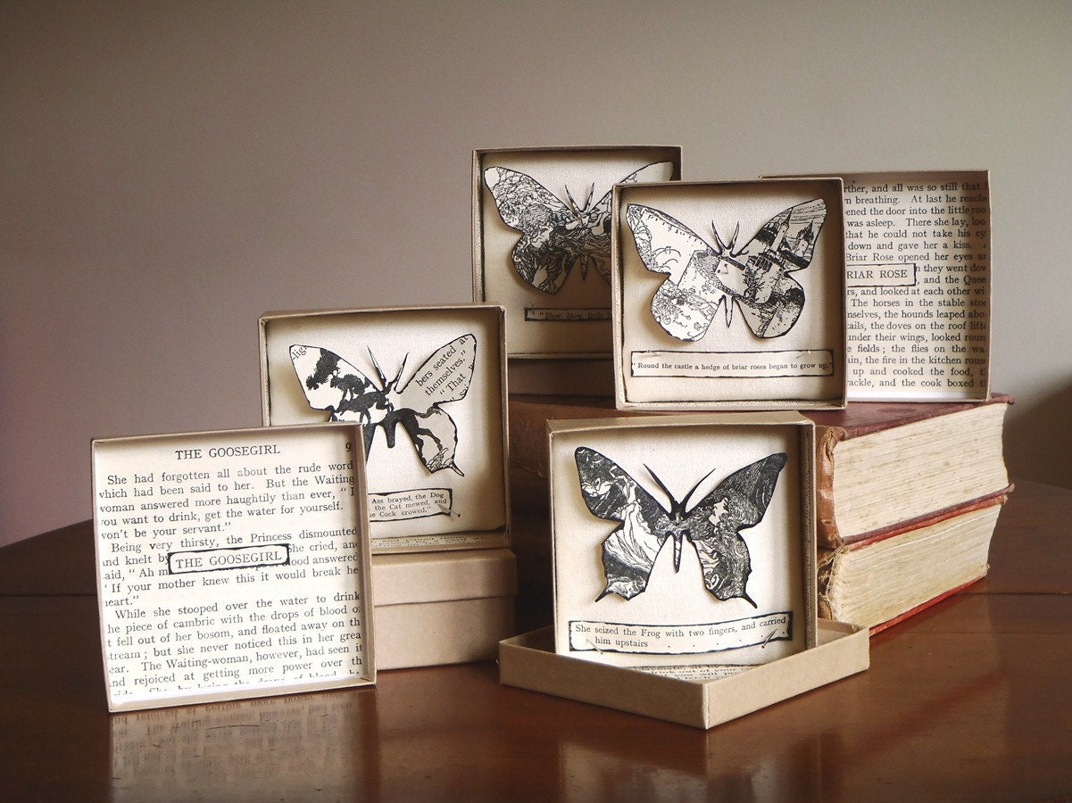 Butterfly box papercut