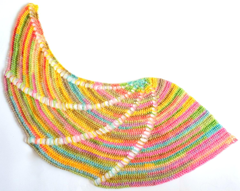 Windmill Shawl crochet pdf pattern