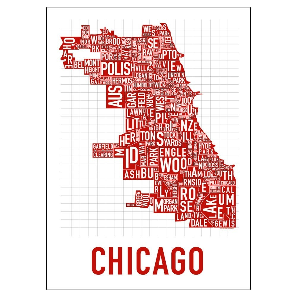 I Wondered What The CTA Map Might Look Like If L Stops Were - Chicago el map poster