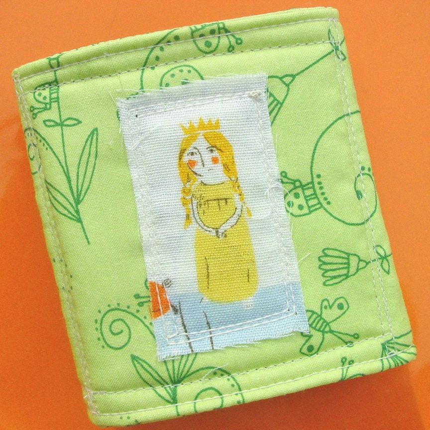 Needle Book - Spoonflower Heather Ross Princess Pea  - Crafter - CoolTricks