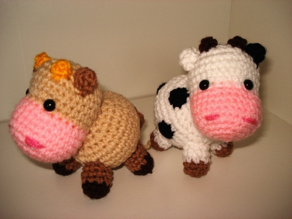 Amigurumi Cowco : Cow amigurumi / knits and kits - Juxtapost