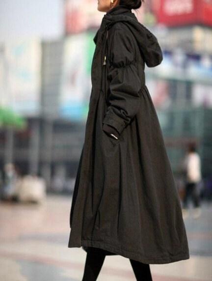نسخه کره ای از کت بلند پنبه خالی می باشند