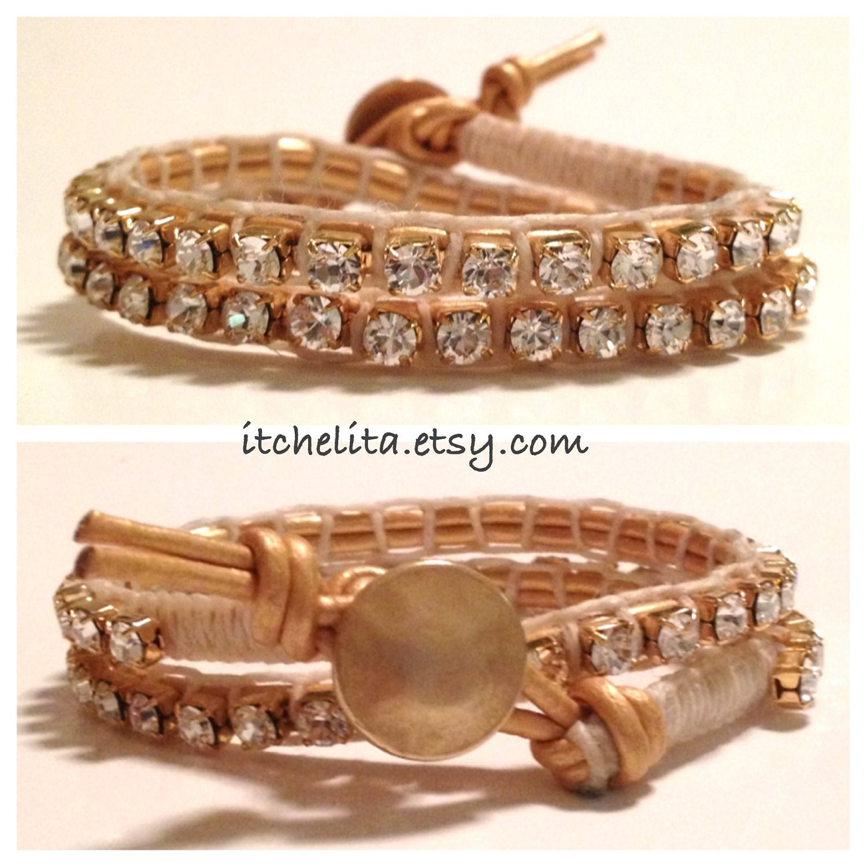 Swarovski Rhinestone Wrap bracelet