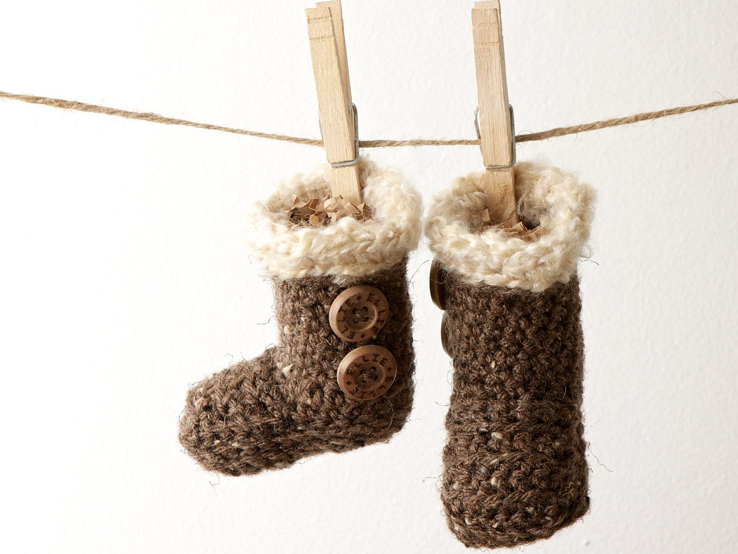 Personalized Bugg Boots: Nature & Ugg Inspired Booties for Babies and Small Children - Perfect Shower Gift - BuggsAndCo