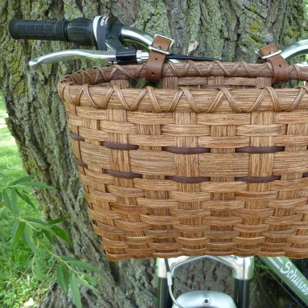 Bicycle Basket - Red Chestnut - joannascollections