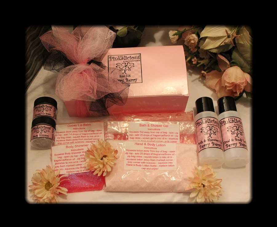 My Pinkalicious Spa Kits For Young Girls