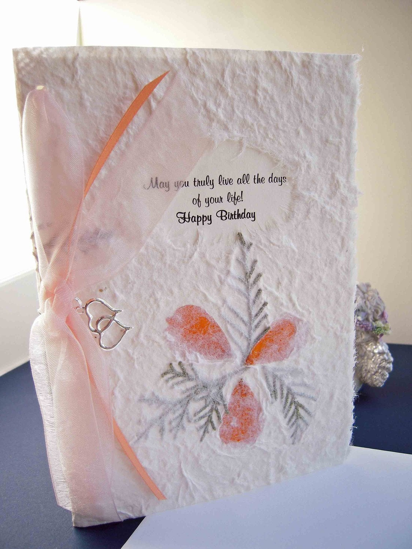 Happy Birthday Card with Keepsake Charm