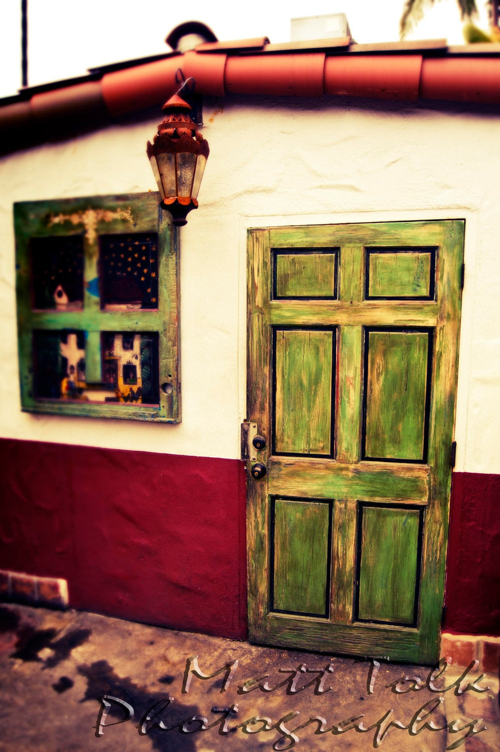 California Photography Painted Door by MattTolkPhotography